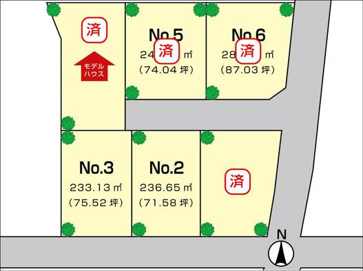 全6区画の分譲地が国分寺台隣接地に登場!!
