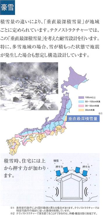 豪雪の危険性